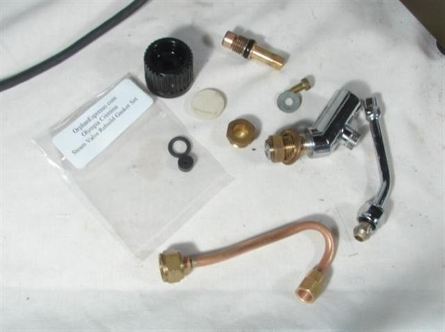 Olympia Cremina Rebuild Steam Valve Instructions - steam valve parts