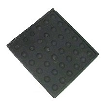"Mini Tamping Mat- 4"" Square Silicone Counter Protector"