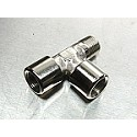 "1/8"" Special T Fitting Female Female Male"