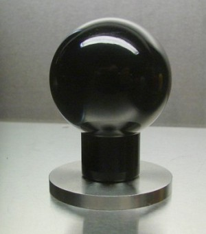 OE HLE IIT Black Ball Knob Handle Tamper