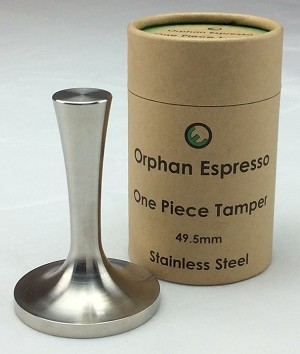 OE One Piece 49.5mm Stainless Steel Tamper